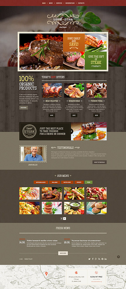 Sablon de | Cafenele & Restaurante | ID: 2070
