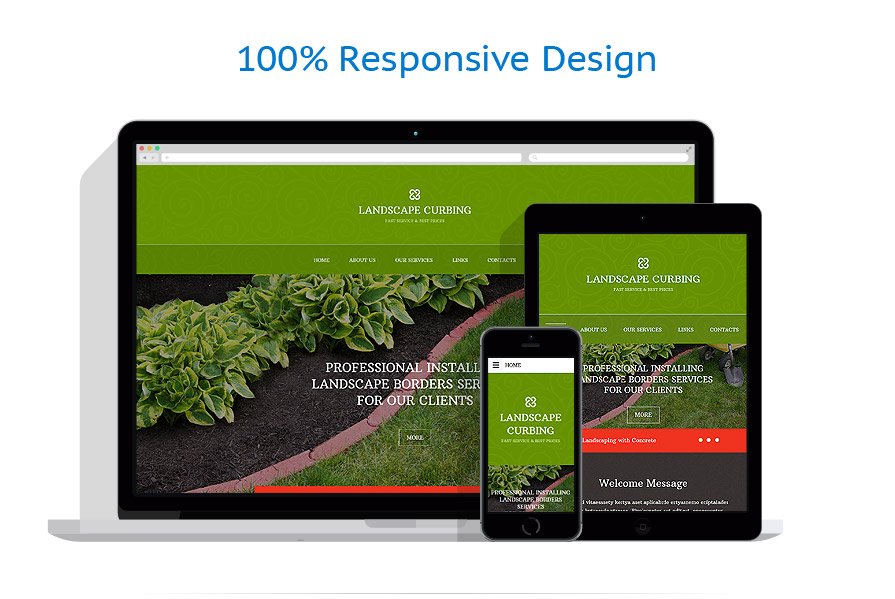 Sablon responsive de | Design Exterior | ID: 2080