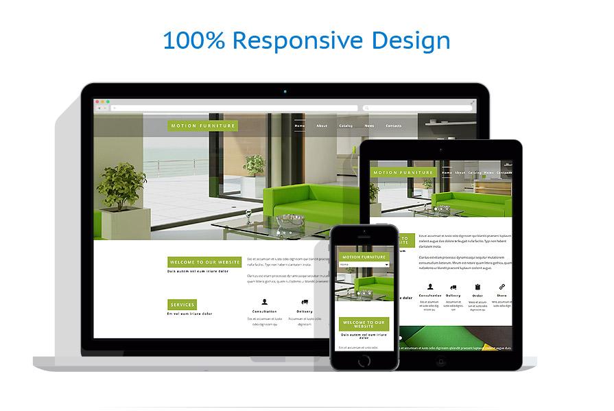 Sablon responsive de | Design Interior & Mobila | ID: 2110