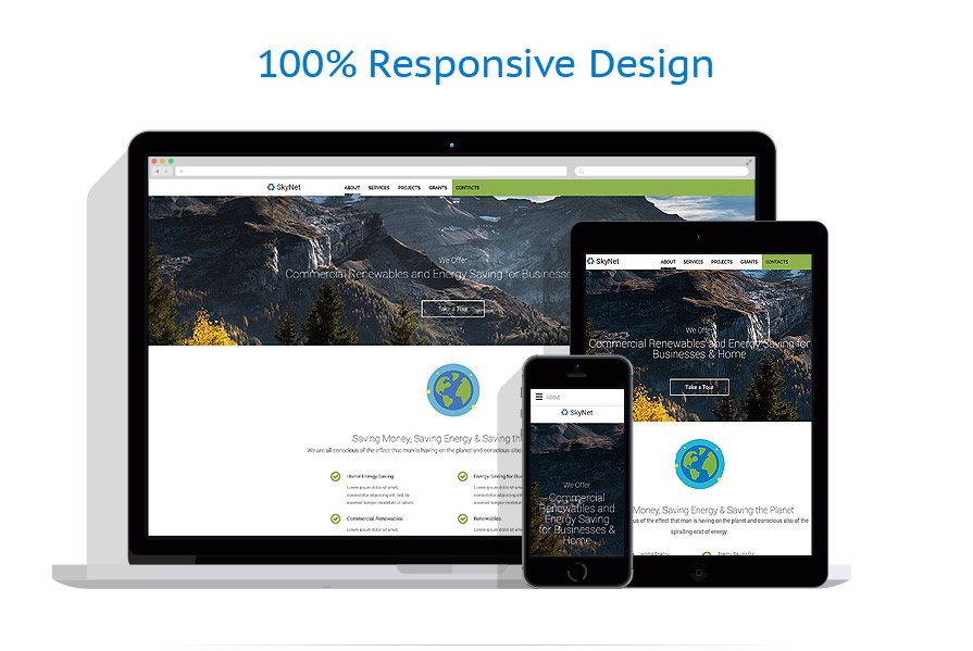 responsive template | Alternative Power