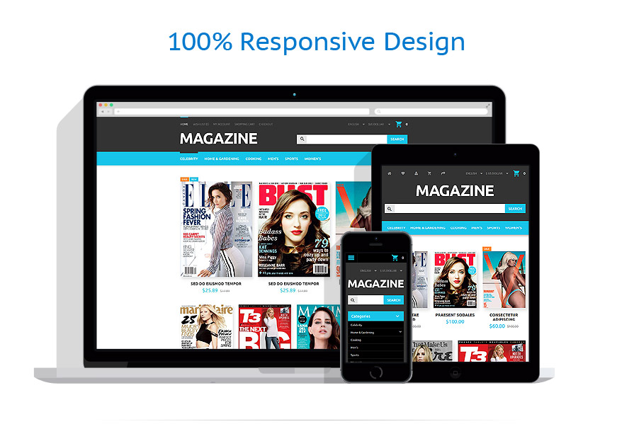 responsive template | Media | ID: 2159