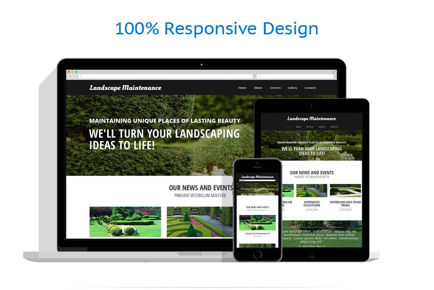 Sablon responsive de | Design Exterior | ID: 216
