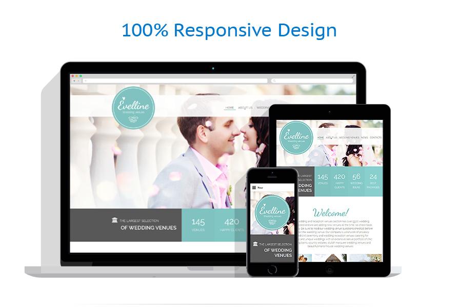responsive template | Wedding | ID: 2163