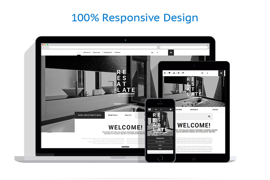 responsive template | Real Estate | ID: 2176