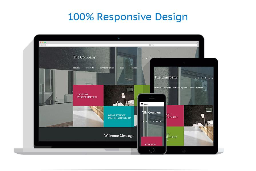 Sablon responsive de | Design Interior & Mobila | ID: 2200