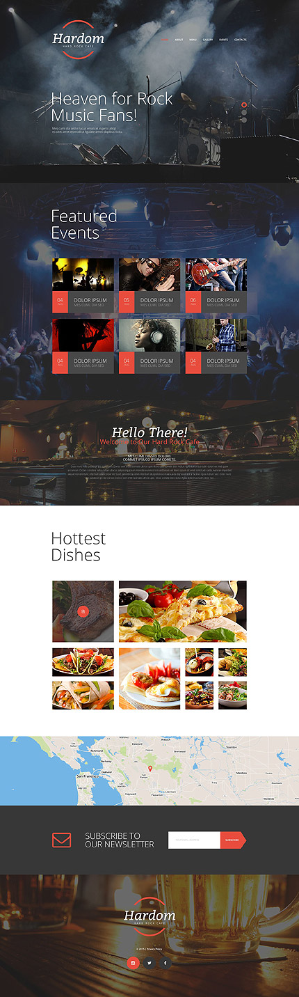 Sablon de | Cafenele & Restaurante | ID: 2243