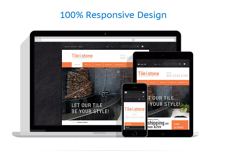 Sablon responsive de | Design Interior & Mobila | ID: 2252