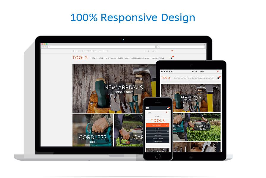 responsive template | Tools & Equipment | ID: 2271