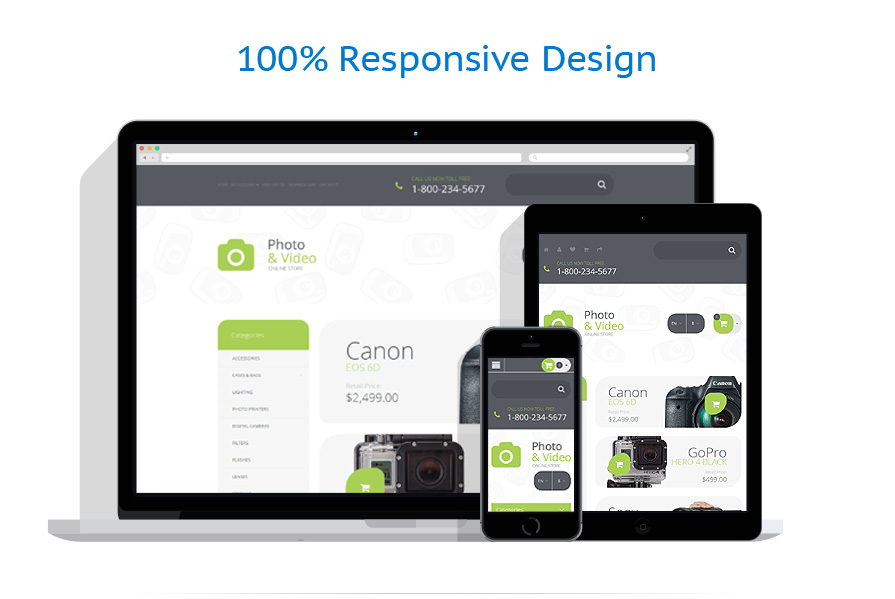 responsive template | Art & Photography | ID: 2284