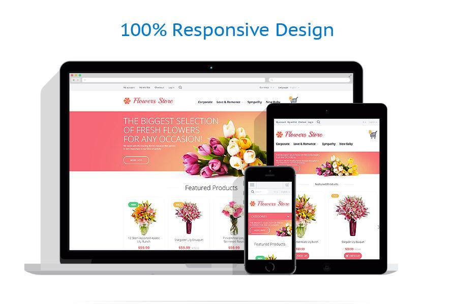 responsive template | Flowers | ID: 2285