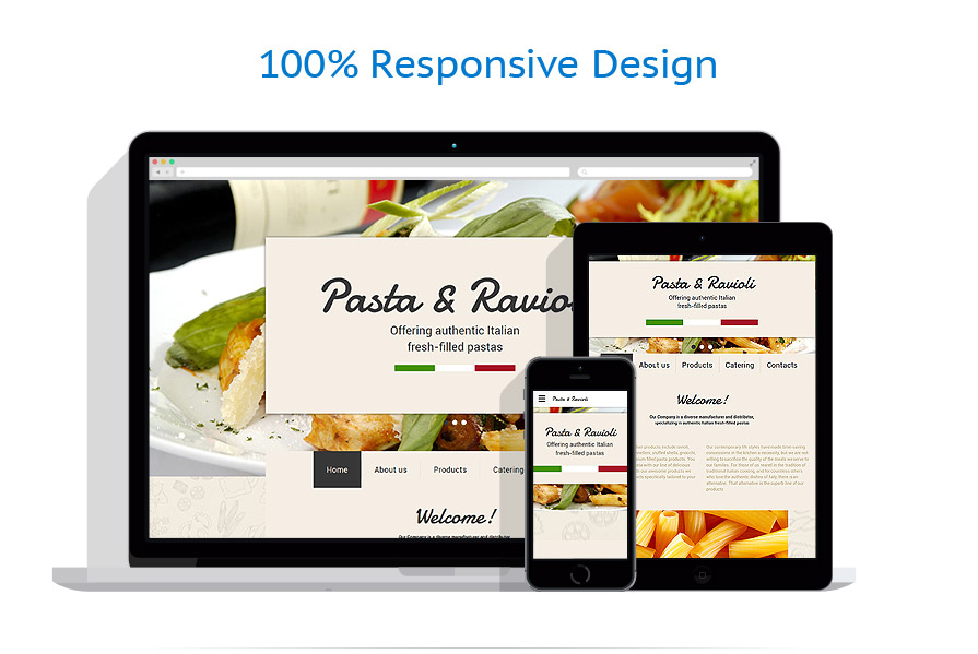 Sablon responsive de | Cafenele & Restaurante | ID: 2292