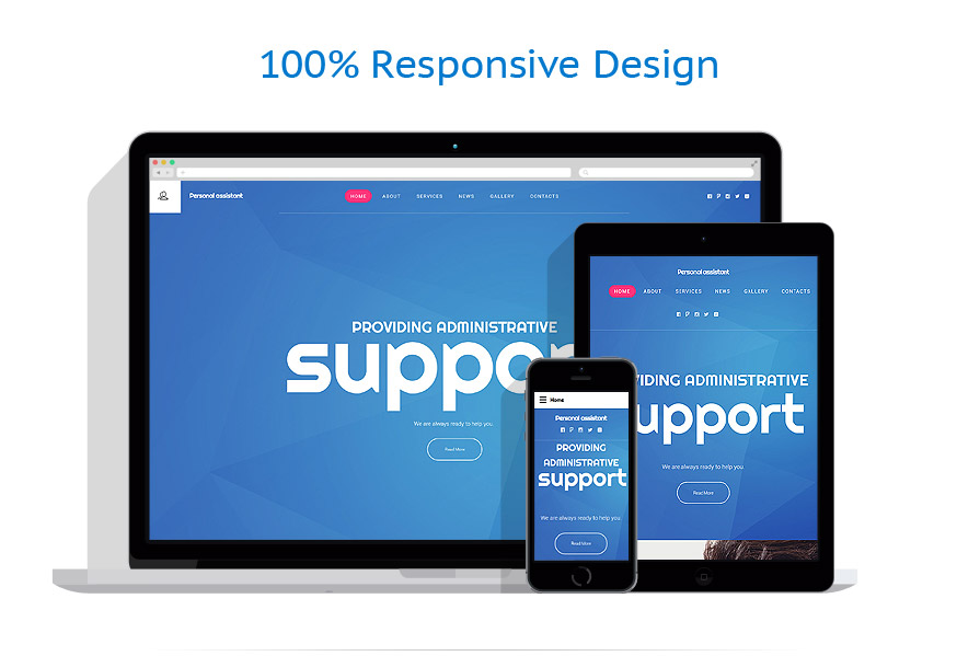 Sablon responsive de | Business | ID: 2295