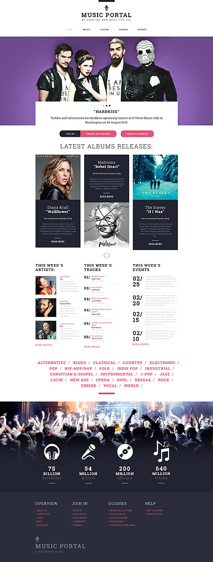 template | Music