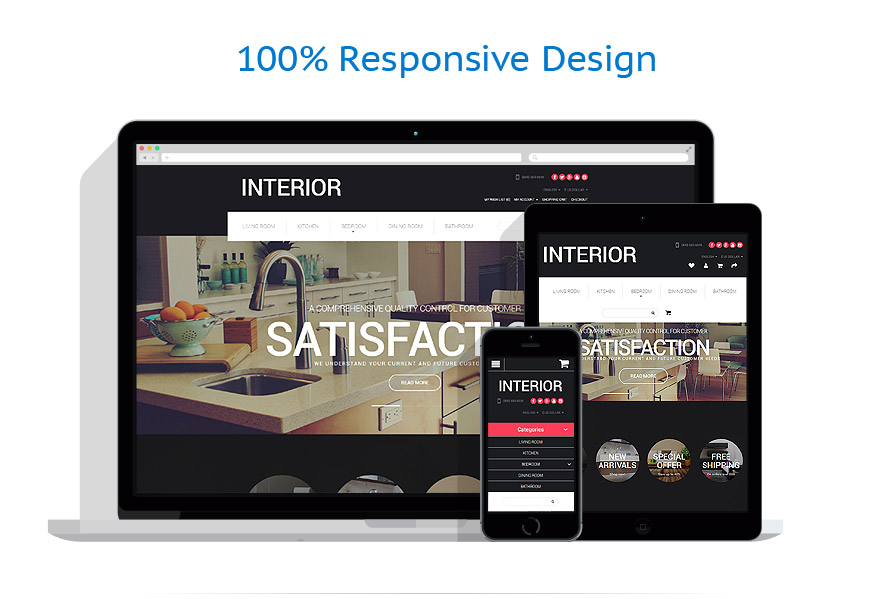 Sablon responsive de | Design Interior & Mobila | ID: 2318
