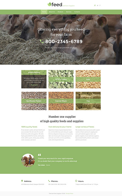 Sablon de | Agricultura | ID: 2327