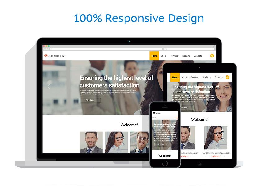 Sablon responsive de | Business | ID: 2335