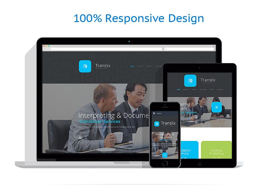 Sablon responsive de | Business | ID: 2336