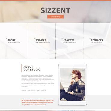 Sablon de | Web design | ID: 2348