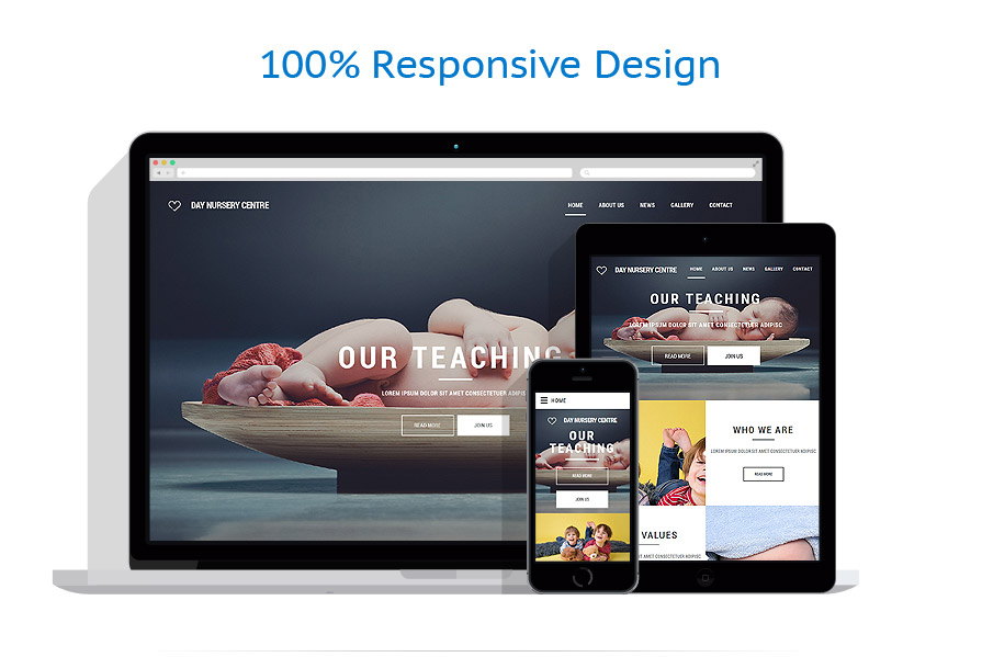 responsive template | Family | ID: 2349