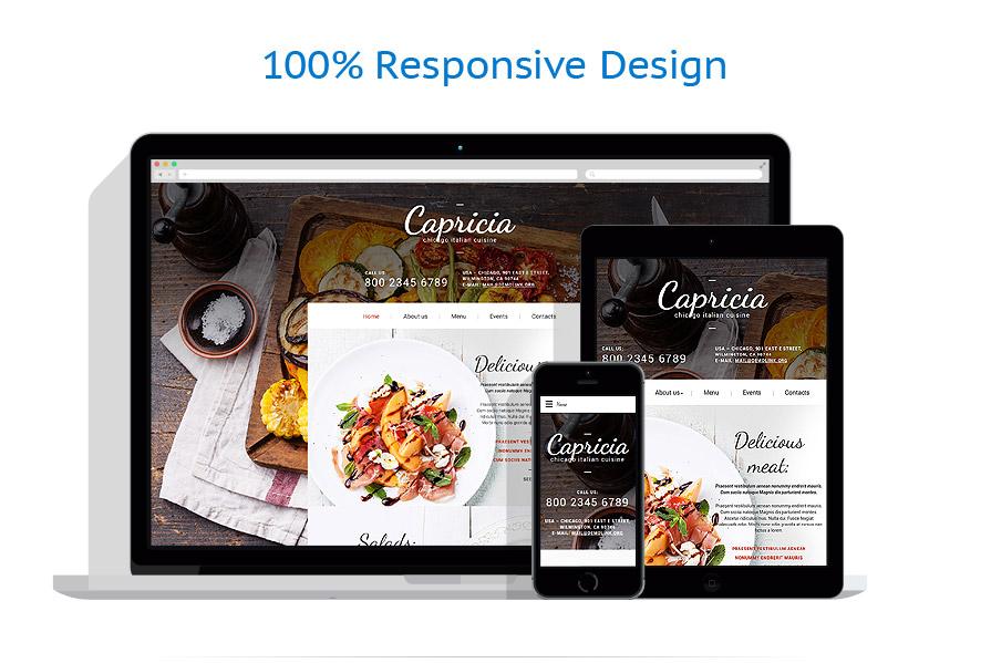 Sablon responsive de   Cafenele & Restaurante   ID: 2353