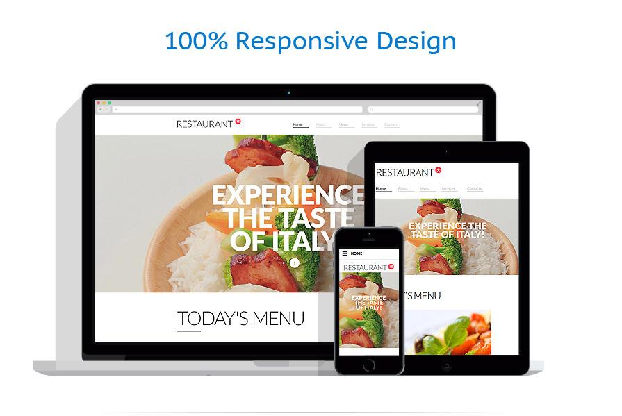Sablon responsive de | Cafenele & Restaurante | ID: 2357