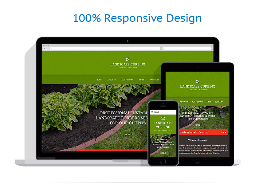 Sablon responsive de | Design Exterior | ID: 2382
