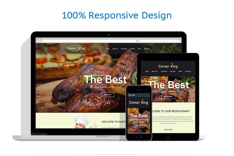 Sablon responsive de | Cafenele & Restaurante | ID: 2392