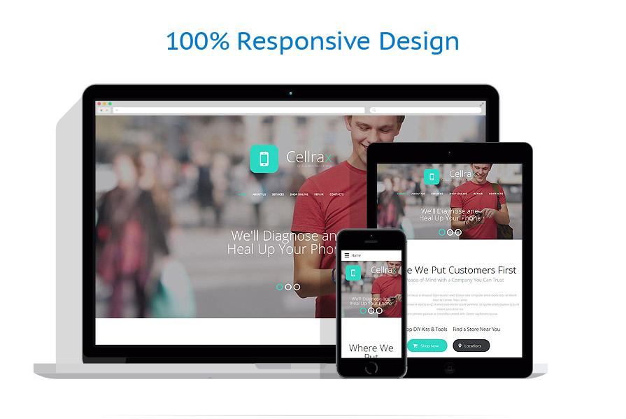 responsive template | Electronics | ID: 2398