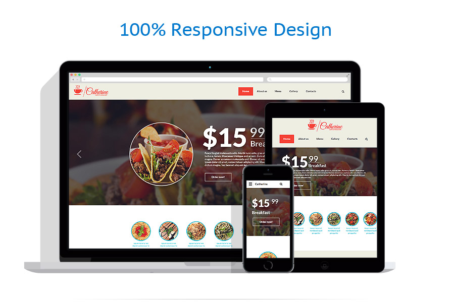 Sablon responsive de   Cafenele & Restaurante   ID: 2409