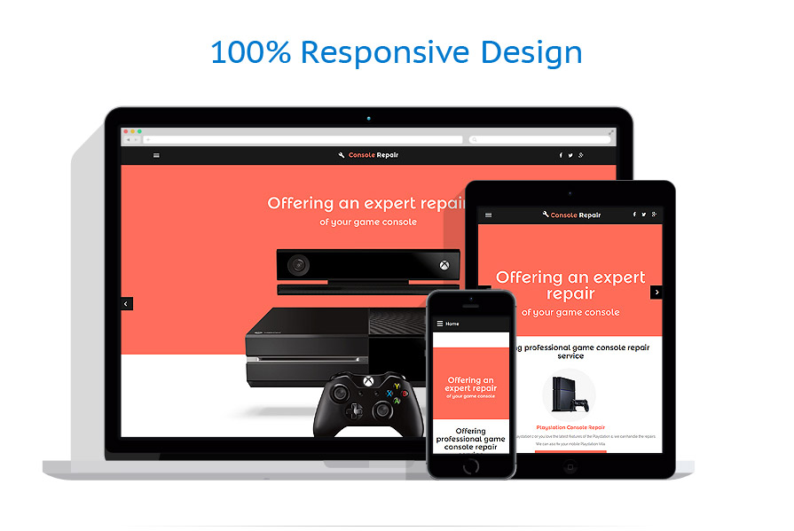 responsive template | Games | ID: 2425