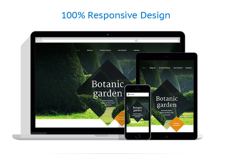 Responsive website templates | Exterior design