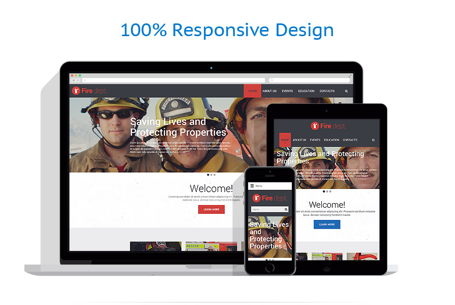 responsive template | Security | ID: 2453