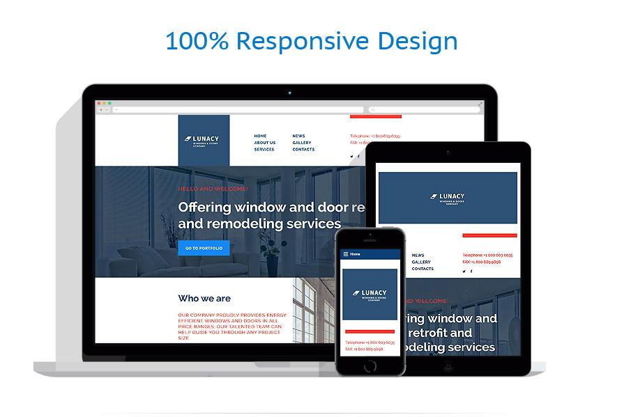 Sablon responsive de | Design Interior & Mobila | ID: 2466
