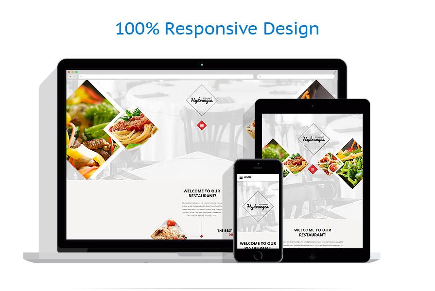Sablon responsive de | Cafenele & Restaurante | ID: 2477