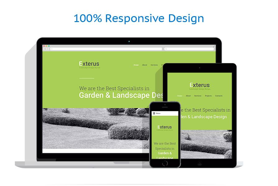 Sablon responsive de | Design Exterior | ID: 2484