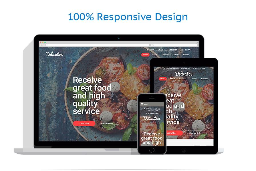 Sablon responsive de | Cafenele & Restaurante | ID: 2485