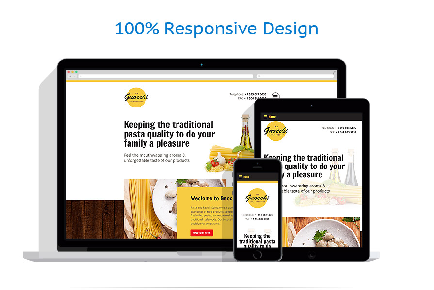 Sablon responsive de | Cafenele & Restaurante | ID: 2486