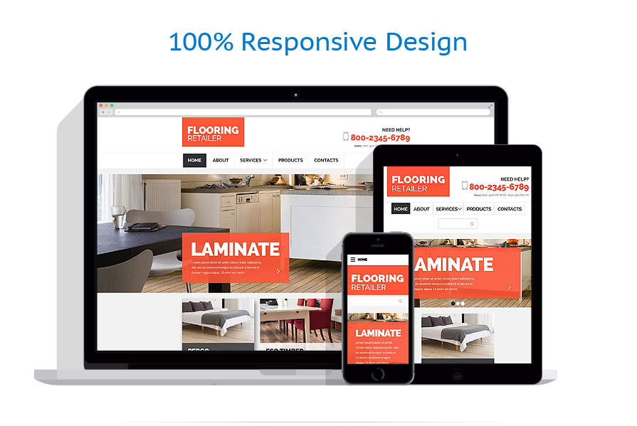 Sablon responsive de | Design Interior & Mobila | ID: 2496