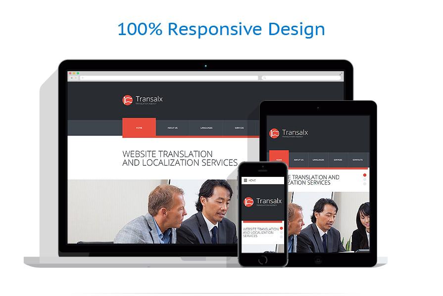 Sablon responsive de | Business | ID: 2513
