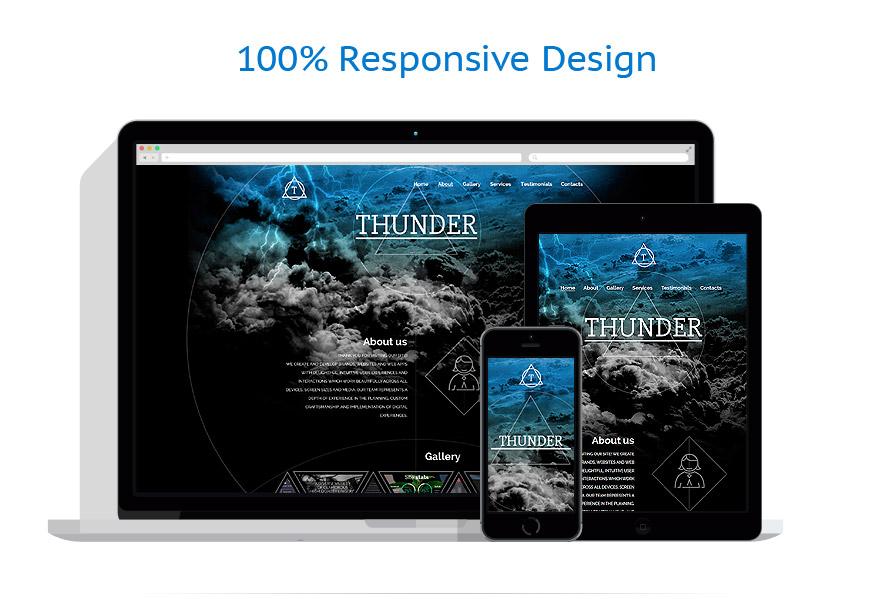 Sablon responsive de | Web design | ID: 2517