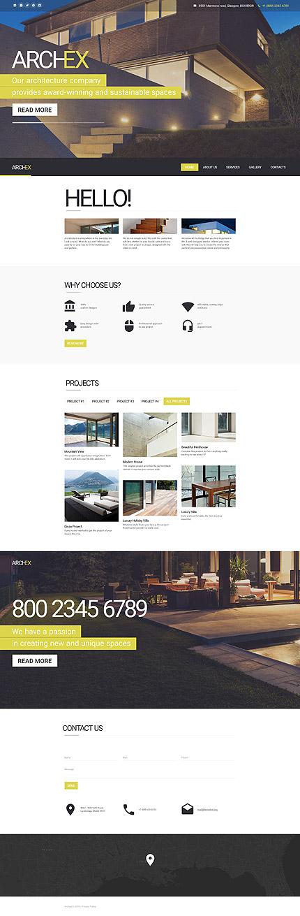 Sablon de | Arhitectura | ID: 2519