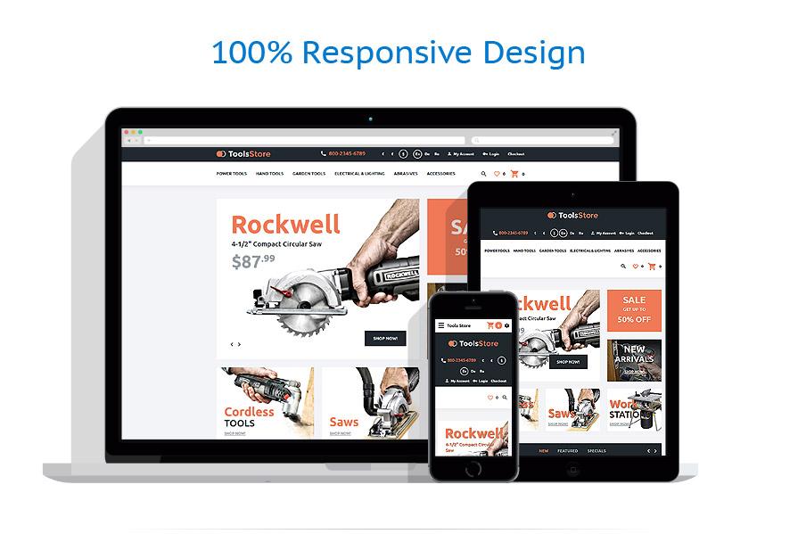 responsive template | Tools & Equipment | ID: 2521