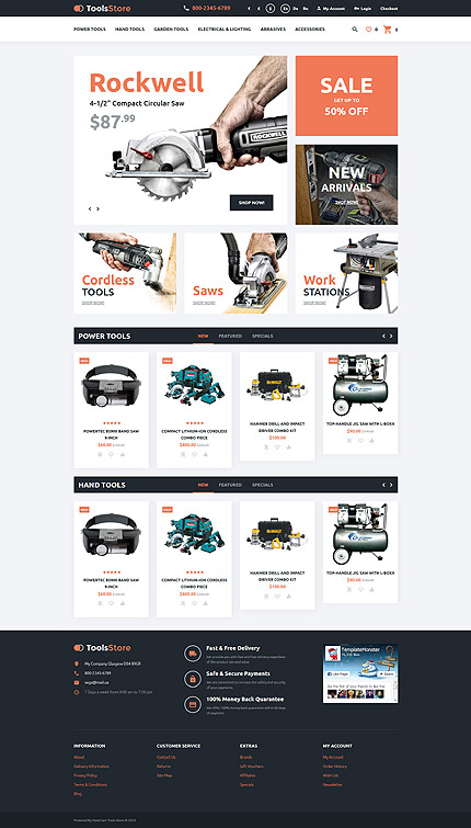 template | Tools & Equipment | ID: 2521
