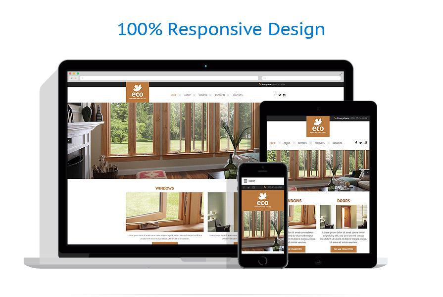 Sablon responsive de | Design Interior & Mobila | ID: 2526