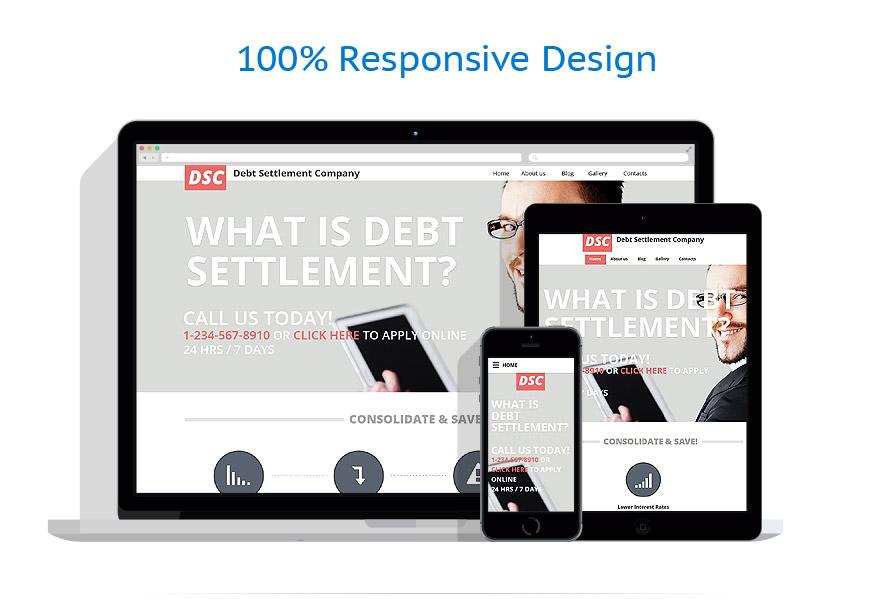 Sablon responsive de | Business | ID: 2534