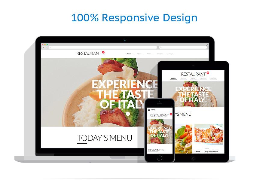 Sablon responsive de | Cafenele & Restaurante | ID: 2539