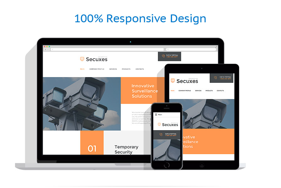 responsive template | Security | ID: 2561