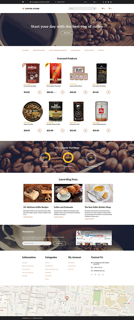 template | Cafe and Restaurant | ID: 2594