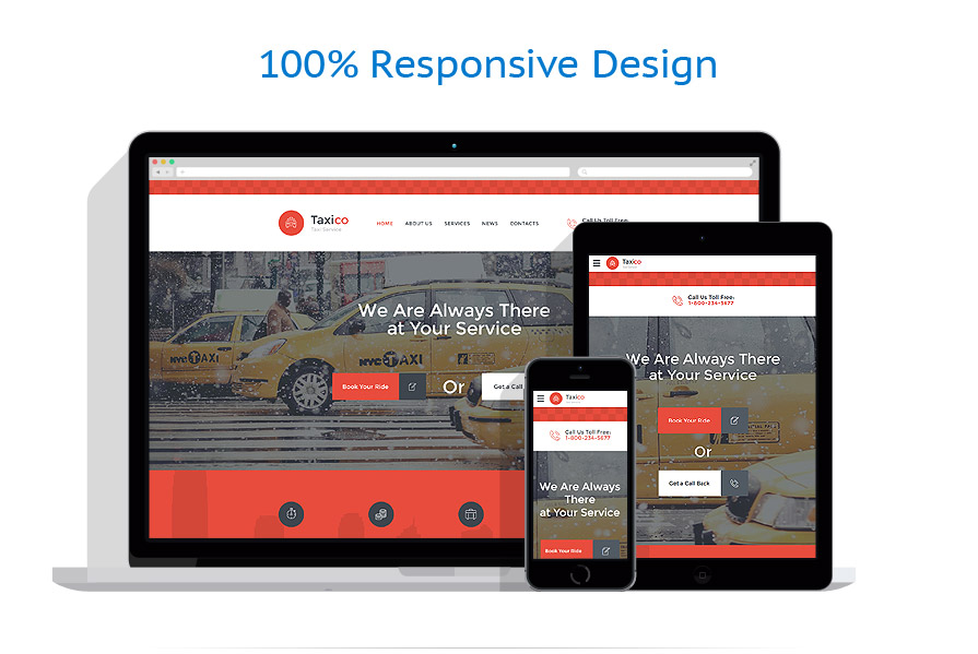 Sabloane responsive de website | Transport