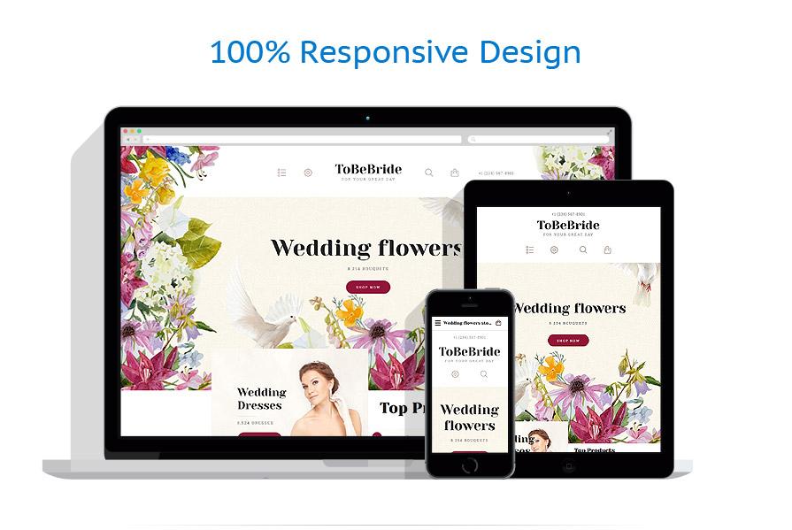 responsive template | Wedding | ID: 2609